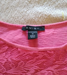 Majica Amisu sa čipkom+hlače