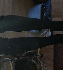 Crne čizme preko koljena, br 38