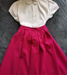 Pink suknja Reserved