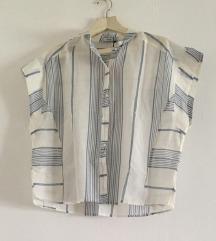 prugasta bluza retro kroja