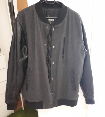Muška sivo-crna jakna