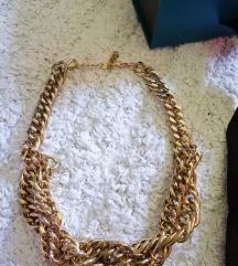 Masovna zlatna ogrlica