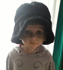 Platneno krzneni šešir sa dva lica