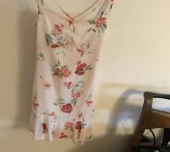 Bershka nova svilena haljina 36
