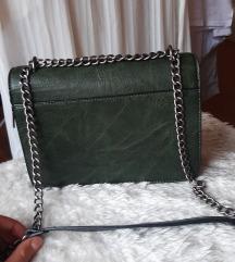 Maslinasto zelena torbica 100 kn
