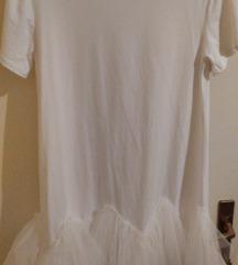 Haljina bijela s tilom 🥰 hitno! 100!
