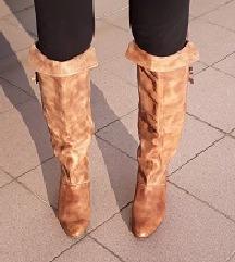 Visoke kožne čizme - ručno rađene po mjeri