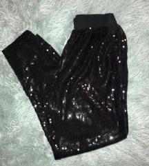 Šljokičaste hlače  34-36/ AKCIJA  150kn
