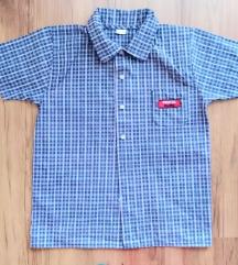 Košulja kratki rukav-vel.122/128-10 kn ili zamjena