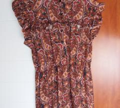 Boho midi haljina (nova)