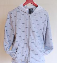 sivi Adidas hoodie