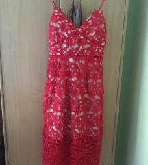 Crvena haljina, s poštarinom