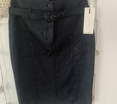Suknja visoki struk XS novo s etiketom