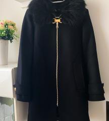 %Novi Zara kaput s krznom 34