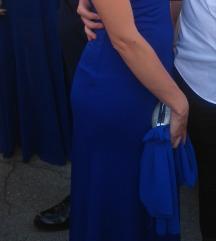 Plava duga svečana haljina
