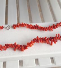 Ogrlica od pravih koralja