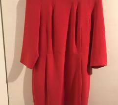 Mango crvena elegantna haljina