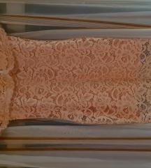 Svečana roza haljina