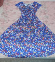 Nova duga floral lepršava haljina