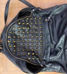 REPLAY kožni ruksak sa zakovicama