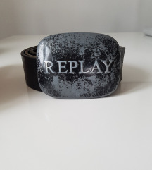 REPLAY crni remen