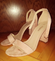 Sandale blok peta
