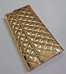 Zlatna torbica / clutch !!Sniženo!!