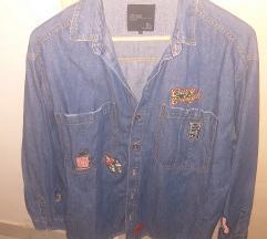 Zara jeans košulja