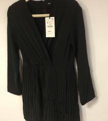 Zara plisirani kombinezon/haljina