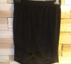 Baršunasta pencil suknja M