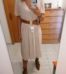 REZZ! Zara nova plisirana haljina S
