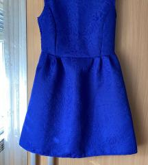 Nova divna plava puf haljinica