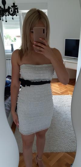 %%Tockasta haljina na volancice XS/S