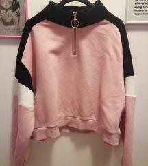 H&M sweatshirt crop majica povoljno!