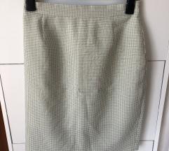 Pepito suknja boja pistacija