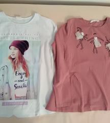 Majice za djevojčice vel. 140