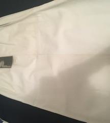 Bijela kožna suknja NOVO