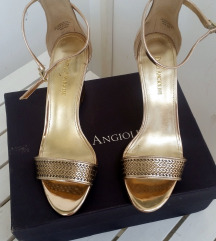 Enzo Angolini wedge zlatne sandale