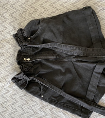 Jeans paperbag hlacice s pt