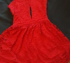 H&M party crvena haljina