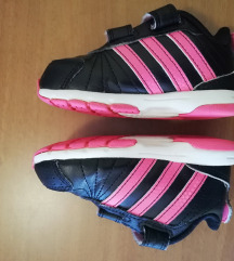 Adidas crne kožne tenisice, curice, broj 21