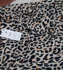 Bershka animal print suknja sa etiketom%