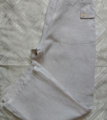 Entity lagane lanene hlače palazzo