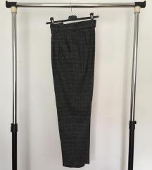 Zara karirane sive hlače