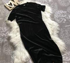 Zara baršunasta haljina