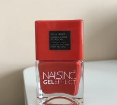 NAILSINC lak za nokte 💋 crvenonarančasta boja