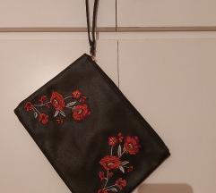 Crna torbica s vezom