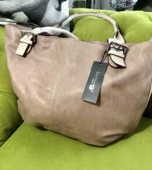Prekrasna nova kožna torba