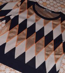 Zara crop pulover M