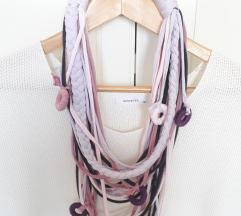 Ogrlica od tkanine Violet